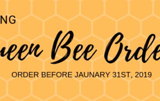 Queen Bee Order Three Rivers Beekeepers
